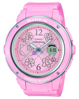 PINK WOMENS ACCESSORIES BABY G WATCHES - BGA150KT-4B_PNK