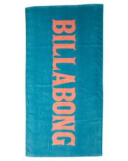 REAL TEAL WOMENS ACCESSORIES BILLABONG TOWELS - 6682724RLT