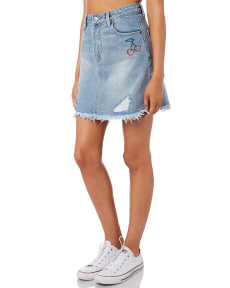 VINTAGE BLUE WOMENS CLOTHING MINKPINK SKIRTS - MD1710930VINBL