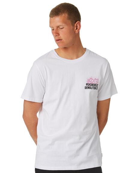 WHITE MENS CLOTHING INSIGHT TEES - 5000002538WHT