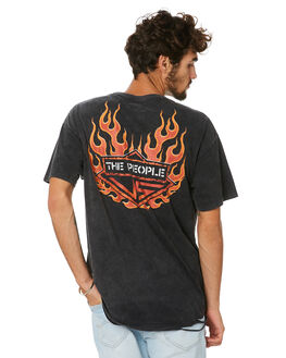 BLACK ACID MENS CLOTHING THE PEOPLE VS TEES - HS19078BKACD