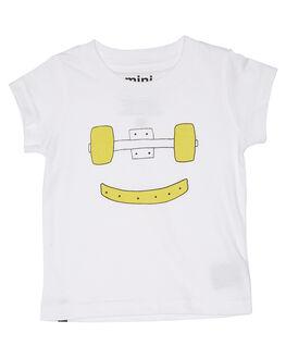 WHITE KIDS BABY MUNSTER KIDS CLOTHING - MI181TE02WHT