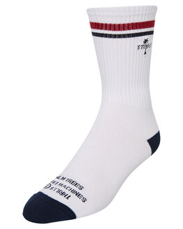 WHITE MENS CLOTHING THRILLS SOCKS + UNDERWEAR - TS9-1002AWHI
