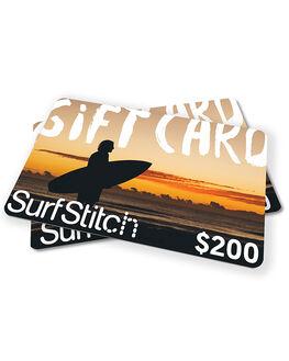 200 GIFT CARDS  SURFSTITCH  - SUMMERGIFT200