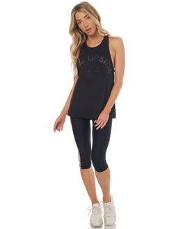 BLACK WOMENS CLOTHING THE UPSIDE ACTIVEWEAR - UPL1516BLK
