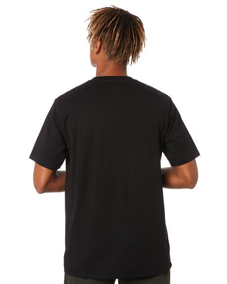 BLACK MENS CLOTHING BARNEY COOLS TEES - 101-Q320BLACK