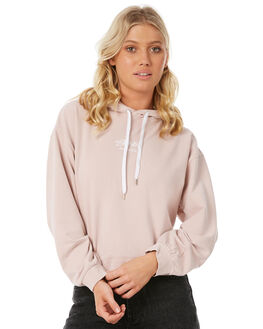 DUSTY PINK WOMENS CLOTHING STUSSY JUMPERS - ST185317DPINK
