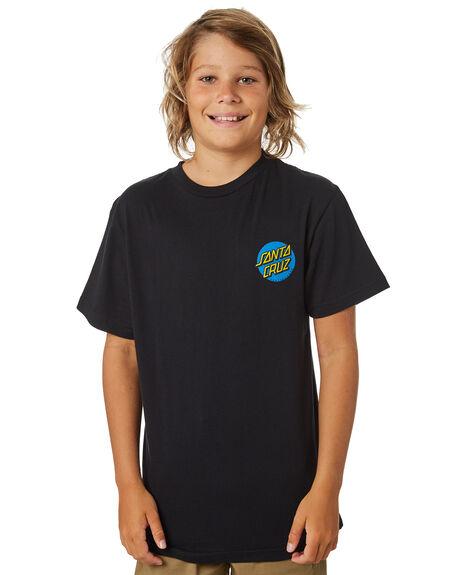 BLACK KIDS BOYS SANTA CRUZ TOPS - SC-YTA9168BLK