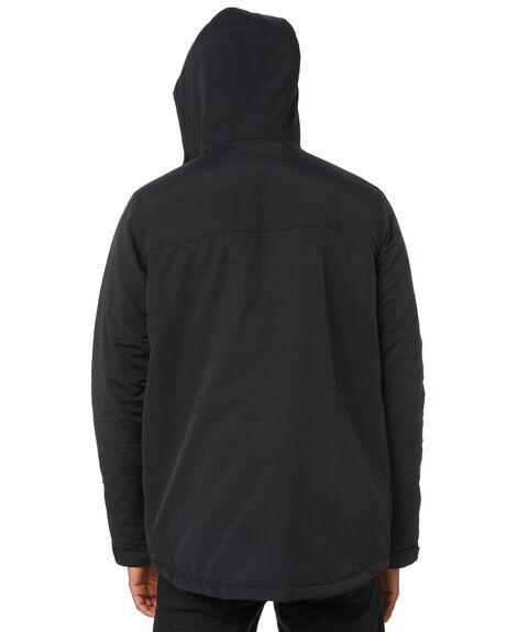 BLACK MENS CLOTHING HURLEY JACKETS - CI2657010