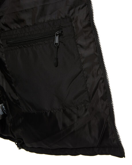 BLACK MENS CLOTHING DEPACTUS JACKETS - D5214381BLK