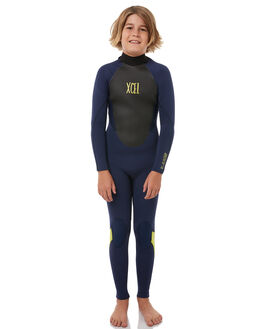 INK BLUE LEMON SURF WETSUITS XCEL STEAMERS - KT32AX17IBA