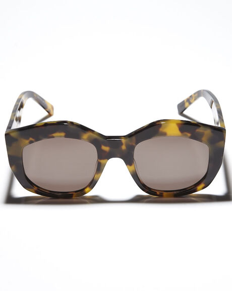 MID TORT BROWN WOMENS ACCESSORIES VALLEY SUNGLASSES - S0119MTRTB