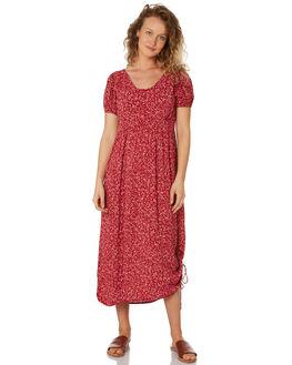 RUBY FLORAL WOMENS CLOTHING SAINT HELENA DRESSES - SHS192124BRUBYFL
