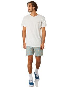 TEAL MENS CLOTHING RHYTHM BOARDSHORTS - APR19M-JM04-TEA