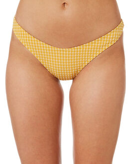 GOLD OUTLET WOMENS BILLABONG BIKINI BOTTOMS - 6582602GOL