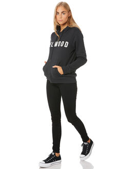 BLACK WOMENS CLOTHING ELWOOD JUMPERS - W01202BLK