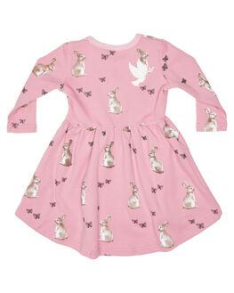 PINK KIDS GIRLS KISSED BY RADICOOL DRESSES + PLAYSUITS - KR1228PINK