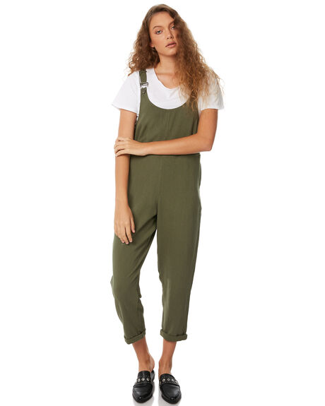 OLIVE WOMENS CLOTHING SWELL PLAYSUITS + OVERALLS - S8183193OLIVE