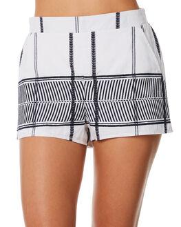 WHITE WOMENS CLOTHING ELWOOD SHORTS - W84606WHT