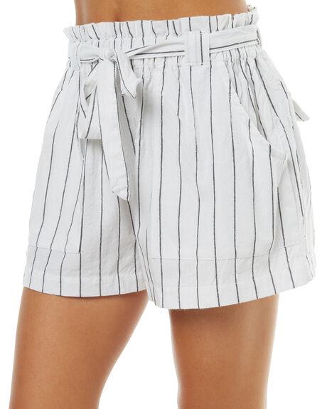WHITE WOMENS CLOTHING RUSTY SHORTS - WKL0638WHT