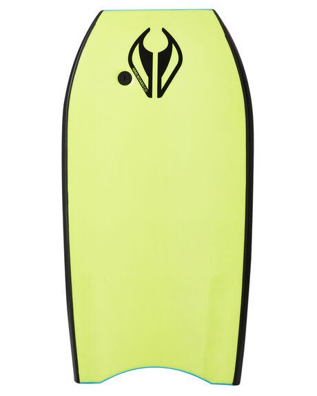 SKY BLUE YELLOW BOARDSPORTS SURF NMD BODYBOARDS BODYBOARDS - NMDSTORMSBLYE
