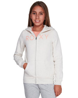 METRO HEATHER KIDS GIRLS ROXY JUMPERS + JACKETS - ERGFT03351-TENH