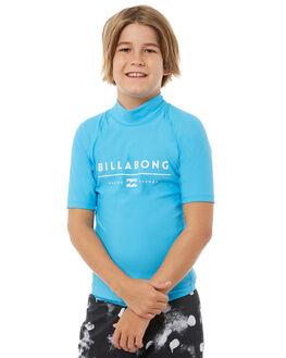 NEW BLUE SURF RASHVESTS BILLABONG BOYS - 8771010N07