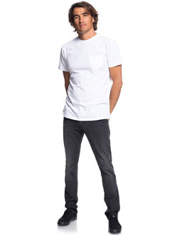 VINTAGE BLACK MENS CLOTHING QUIKSILVER JEANS - EQYDP03370KTF0