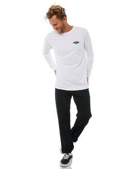 WHITE MENS CLOTHING RIP CURL TEES - CTEIV21000