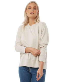 OATMEAL MARLE WOMENS CLOTHING CAMILLA AND MARC JUMPERS - RCMT6717OAT