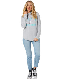 GREY MARLE WOMENS CLOTHING SILENT THEORY JUMPERS - 6054008GMARL