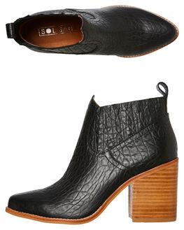 BLACK ELEPHANT WOMENS FOOTWEAR SOL SANA BOOTS - SS201W326BELE
