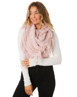 PALE MAUVE WOMENS ACCESSORIES RUSTY SCARVES + GLOVES - MAL0397PMV
