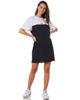 WHITE NAVY WOMENS CLOTHING HUFFER DRESSES - WDR94S8502WNY