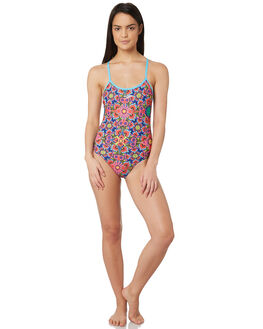SUMMER SPLASH WOMENS SWIMWEAR SPEEDO ONE PIECES - 2230E-7200SPLSH