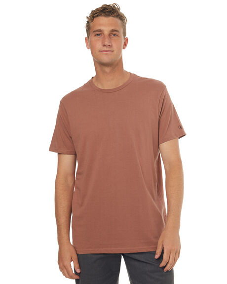 DUSTY BROWN MENS CLOTHING VOLCOM TEES - A5011530DBN