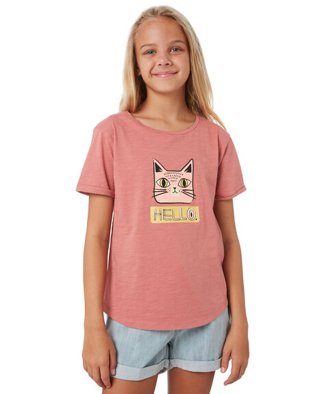 PINK KIDS GIRLS SWELL TOPS - S6202002PINK