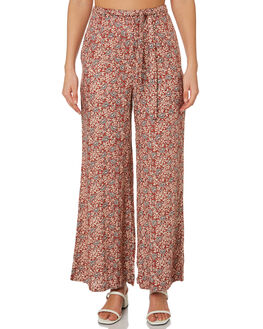 TIGANI FLORAL WOMENS CLOTHING THE HIDDEN WAY PANTS - H8203194TIGFL