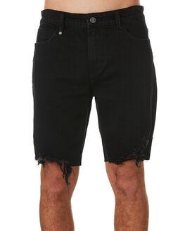 BLACK MENS CLOTHING THRILLS SHORTS - TDP-319BBLK