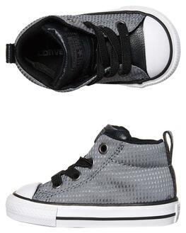 COOL GREY BLACK KIDS TODDLER BOYS CONVERSE FOOTWEAR - 760071GRY