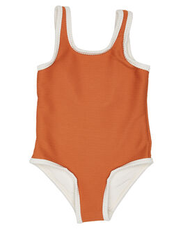 RUST KIDS TODDLER GIRLS ZULU AND ZEPHYR SWIMWEAR - ZM1639RUS