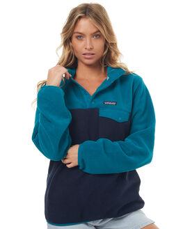 ELWHA BLUE WOMENS CLOTHING PATAGONIA JUMPERS - 25455ELWB