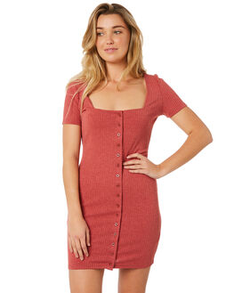 RUST WOMENS CLOTHING MINKPINK DRESSES - MP1803052RST