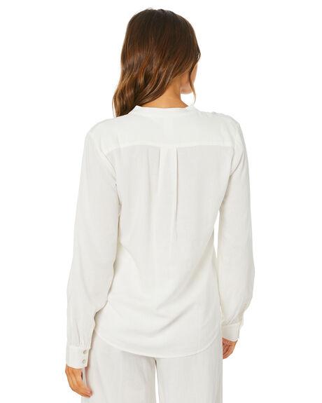 WHITE WOMENS CLOTHING TIGERLILY FASHION TOPS - T305054WHT