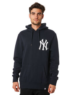 YANKEES NAVY MENS CLOTHING MAJESTIC JUMPERS - MNY7023NLNVY