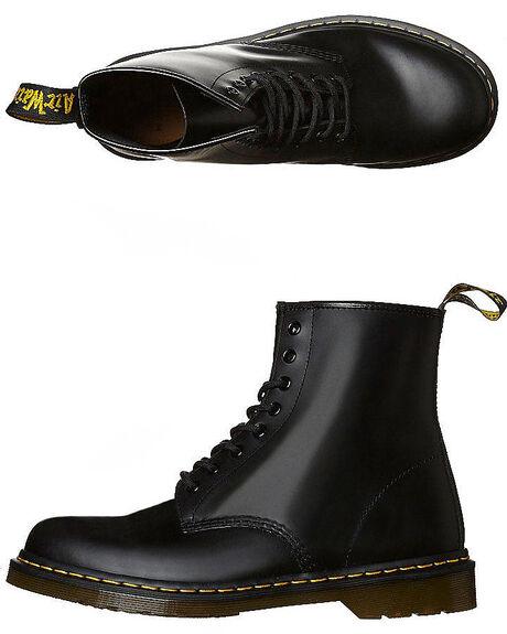 BLACK MENS FOOTWEAR DR. MARTENS BOOTS - SS11822006BLKM