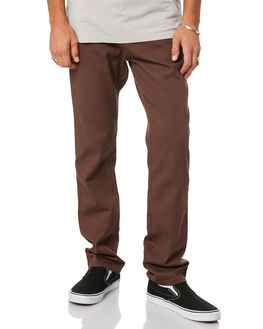 DARK COFFEE MENS CLOTHING RUSTY PANTS - PAM1002DCF