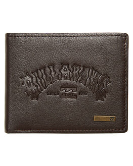 CHOCOLATE MENS ACCESSORIES BILLABONG WALLETS - 9662205CCHOC