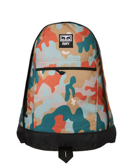 DRIP CAMO MENS ACCESSORIES OBEY BAGS + BACKPACKS - 100010099DRP
