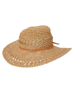 STRAW WOMENS ACCESSORIES RHYTHM HEADWEAR - ACC00W-HW15STR